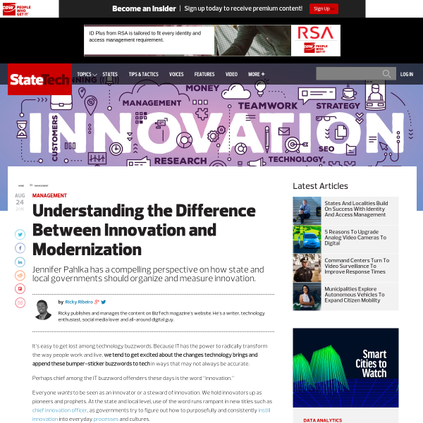 Understanding the Difference Between Innovation and Modernization