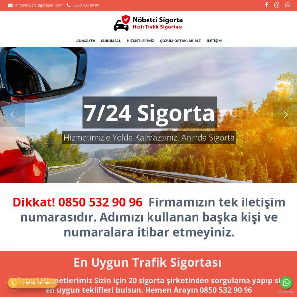 Trafik Sigortası Uygun Fiyat Araç Sigortası Nöbetçi Sigortacı Acil Sigortacı