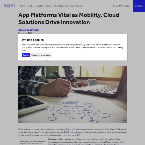 App Platforms Vital as Mobility, Cloud Solutions Drive Innovation - Appian Blog