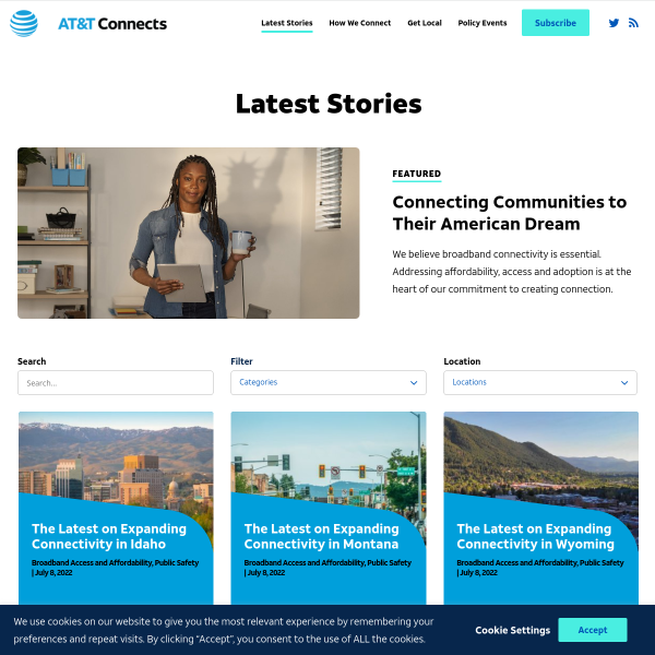 Ensuring an Open Internet while Fostering Innovation and Investment - AT&T Public Policy