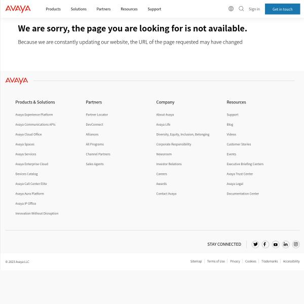 New Avaya: Singular Focus on Innovation & the Customer Experience - Blog