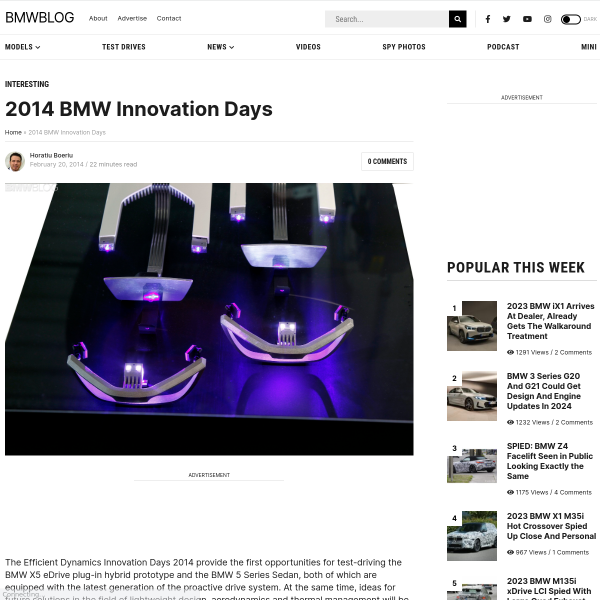 2014 BMW Innovation Days