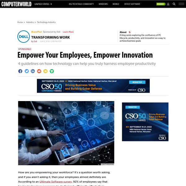 Empower Your Employees, Empower Innovation
