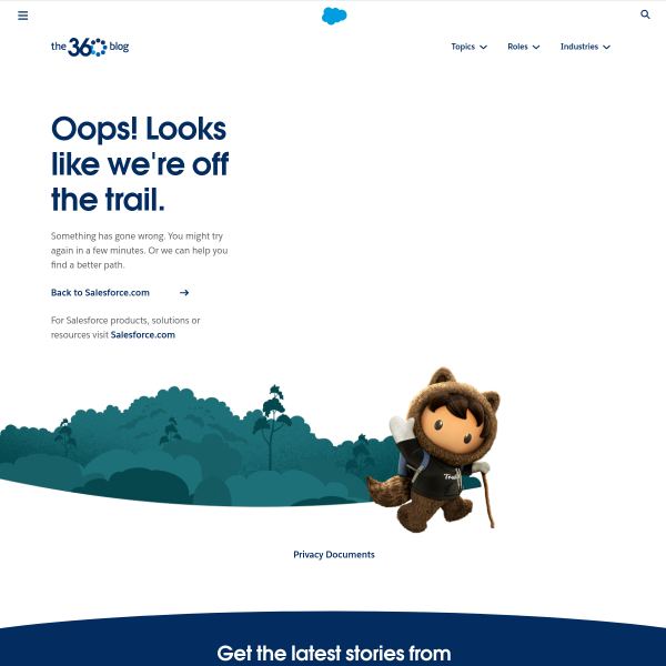 Salesforce Connections: New Innovations For Connected Customer Experiences - Salesforce Commerce Cloud Blog
