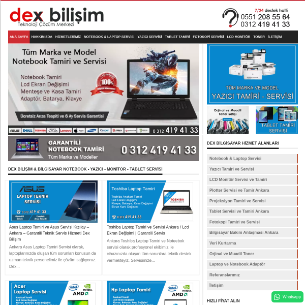Yazıcı Tamiri
