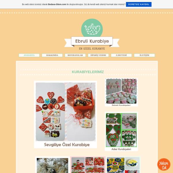 Ebruli Tasarım Butik Kurabiye