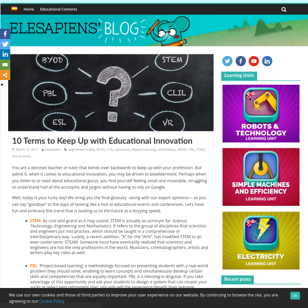 10 Terms to Keep Up with Educational Innovation