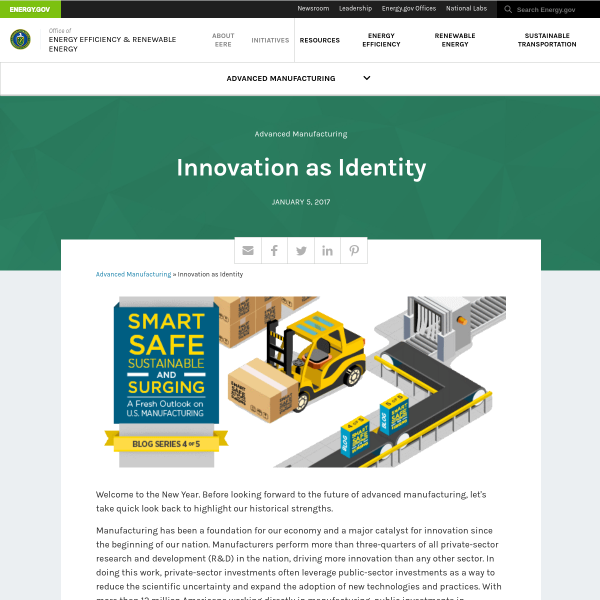 Innovation as Identity