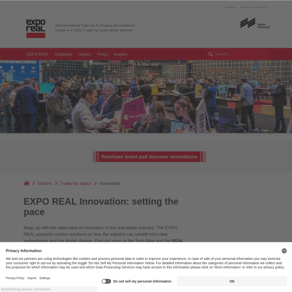 Digital Innovation in the Property Industry - EXPO REAL