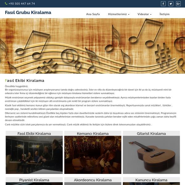 fasilgrubukiralama