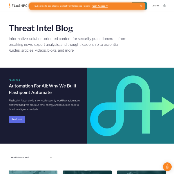 Flashpoint - BRI Continues to Fuel Growth, Innovation in 2018
