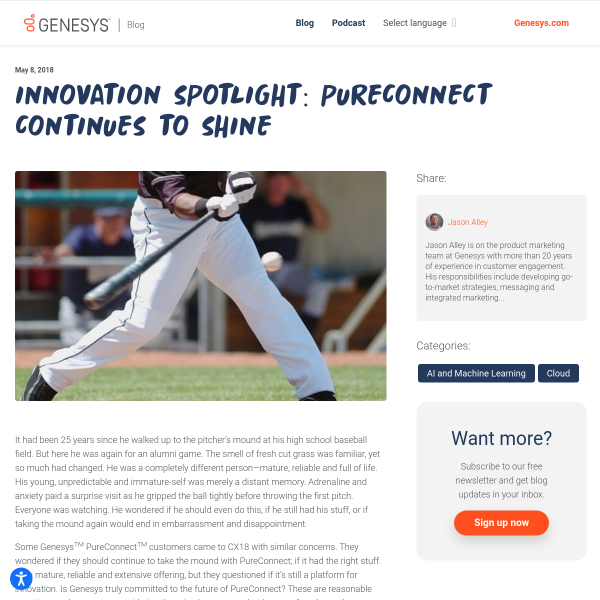 Innovation Spotlight: PureConnect Continues to Shine - Genesys