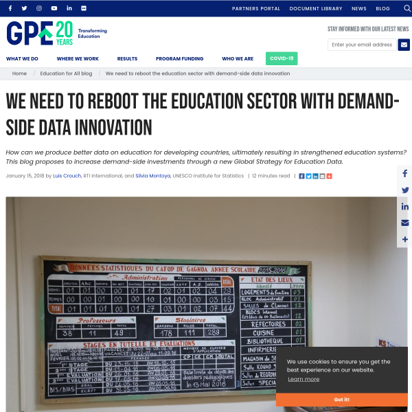 We need to reboot the education sector with demand-side data innovation