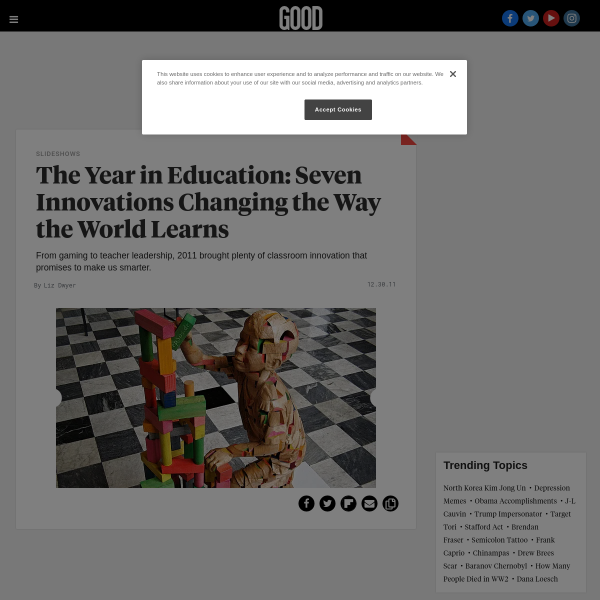 The Year in Education: Seven Innovations Changing the Way the World Learns