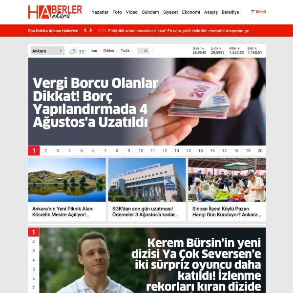 Haberler Ankara