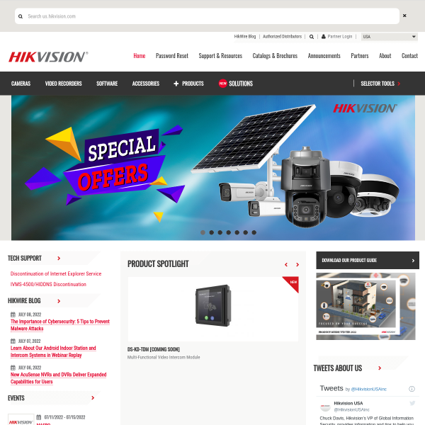 海康威视是以视频为核心的智能物联网解决方案和大数据服务提供商