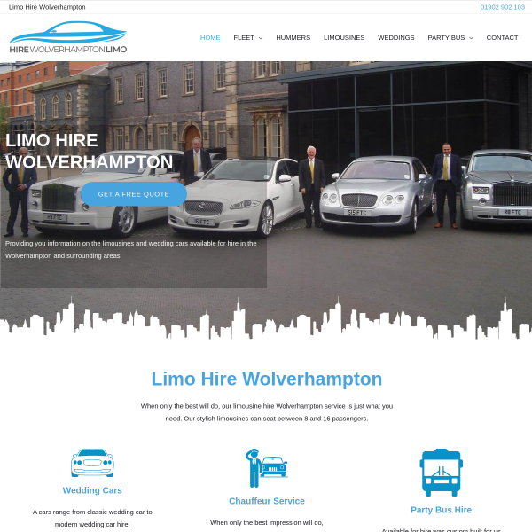 Read more about: Limo Hire Wolverhampton