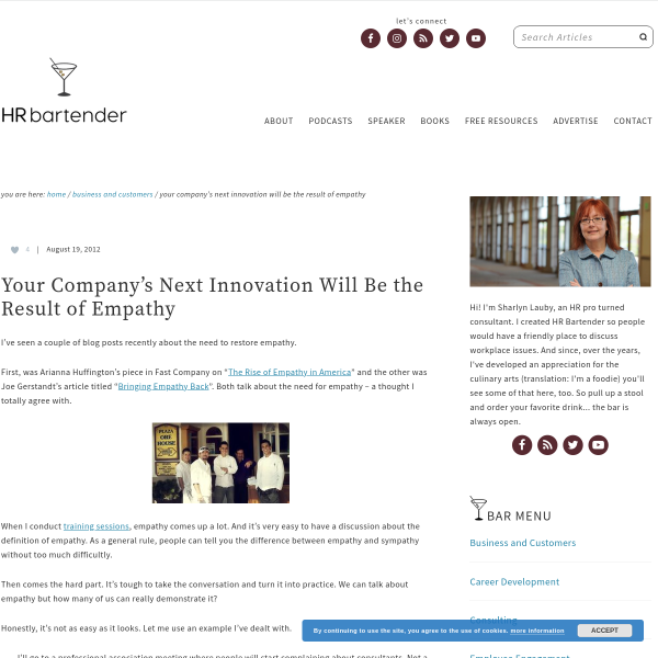 Your Company's Next Innovation Will Be the Result of Empathy
