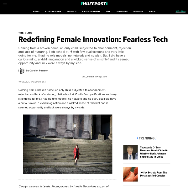 Redefining Female Innovation: Fearless Tech