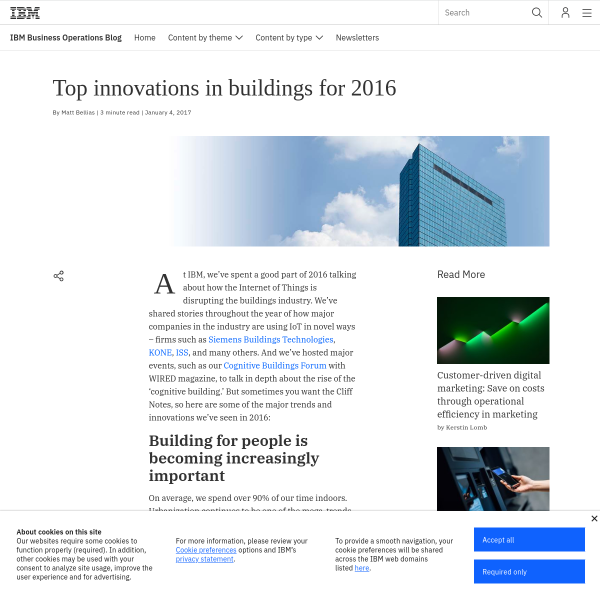 Top innovations in buildings for 2016 - the IBM Watson IoT Blog