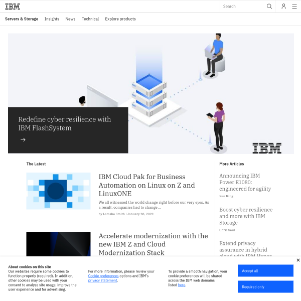 IBM Innovation Center for Education: Building IT skills for the future - IBM IT Infrastructure Blog