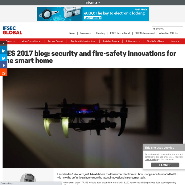CES 2017: security and fire-safety innovations for the smart home
