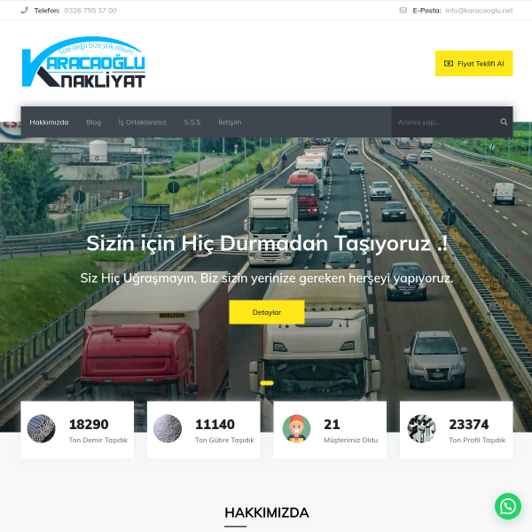 Karacaoğlu Nakliyat