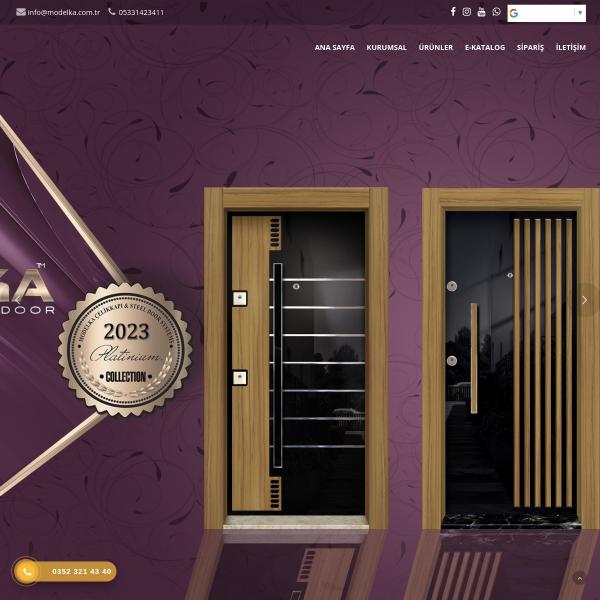 Ucuz Çelik Kapı Fiyatları Modelka Sac Kesim Büküm Yangın Kapısı