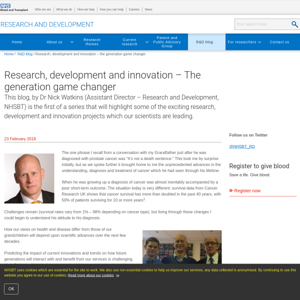Research, development and innovation – The generation game changer