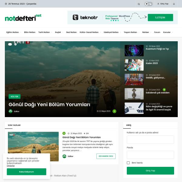 notdefteri
