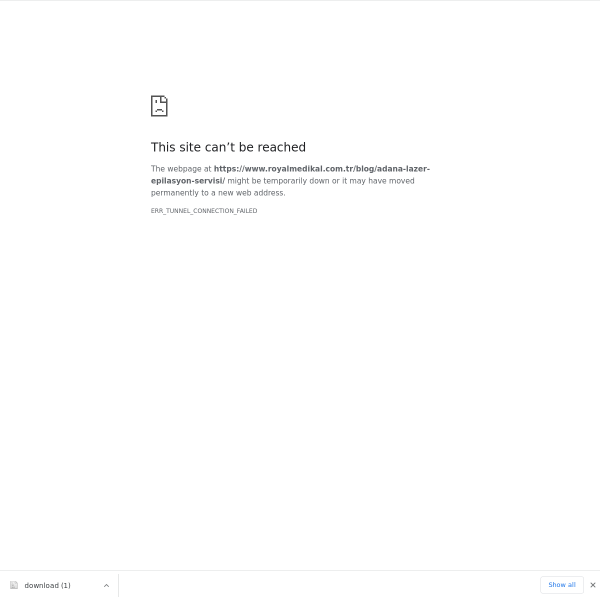 Adana Lazer Epilasyon Servisi
