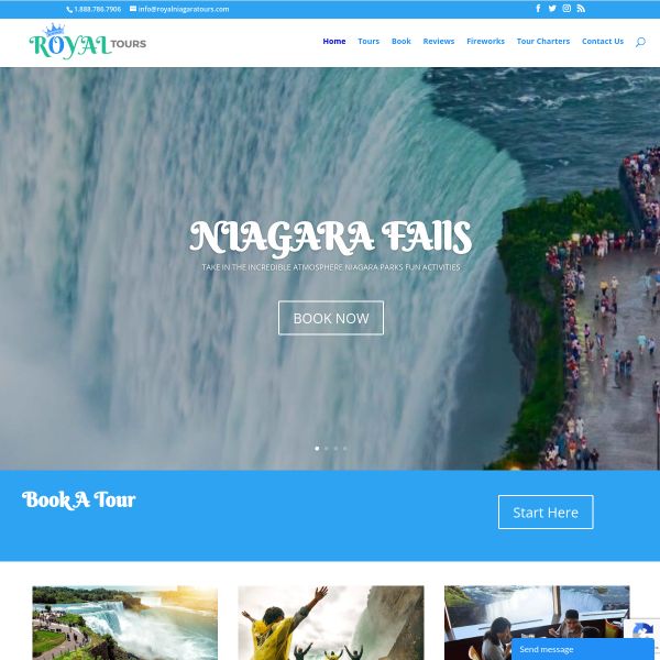 Read more about: Niagara Tour Packages