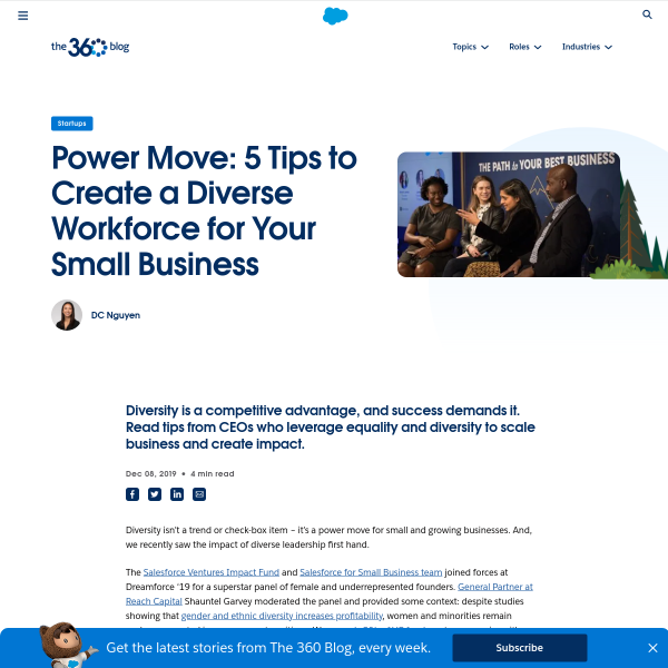 5 Reasons Why Diversity Drives Innovation for Small Businesses