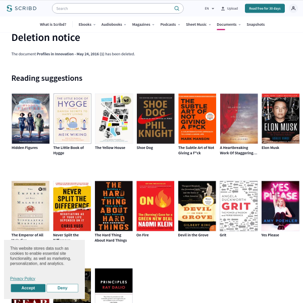 Profiles in Innovation - May 24, 2016 (1) - Blockchain (Database) - Airbnb