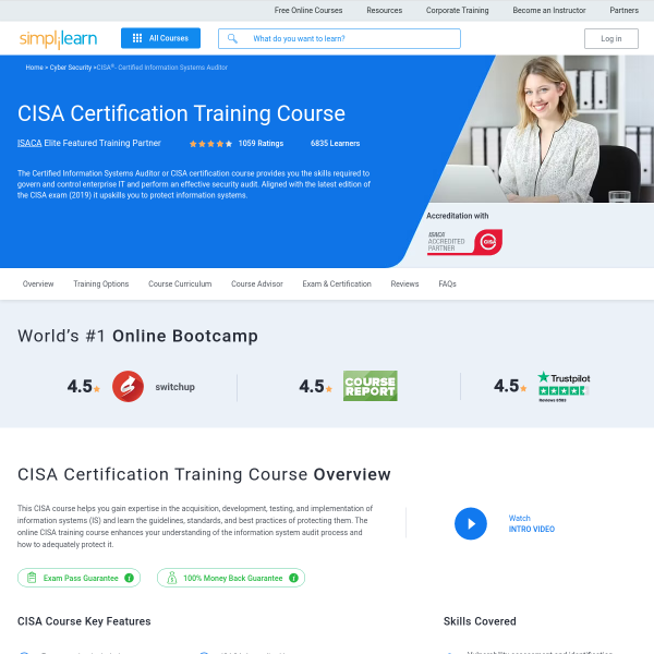 Read more about: CISA Certification Course