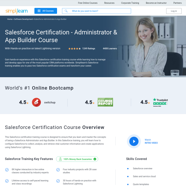 Read more about: Salesforce Certification Training