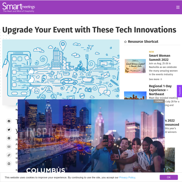 Upgrade Your Event with These Tech Innovations - Smart Meetings