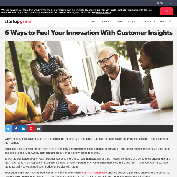 6 Ways to Fuel Your Innovation With Customer Insights