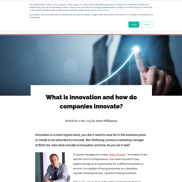 What is innovation and how do companies innovate? - The Manufacturer