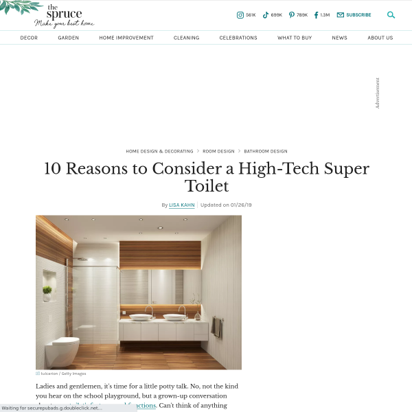 Latest Bathroom Tech Innovations You Won't Want To Live Without