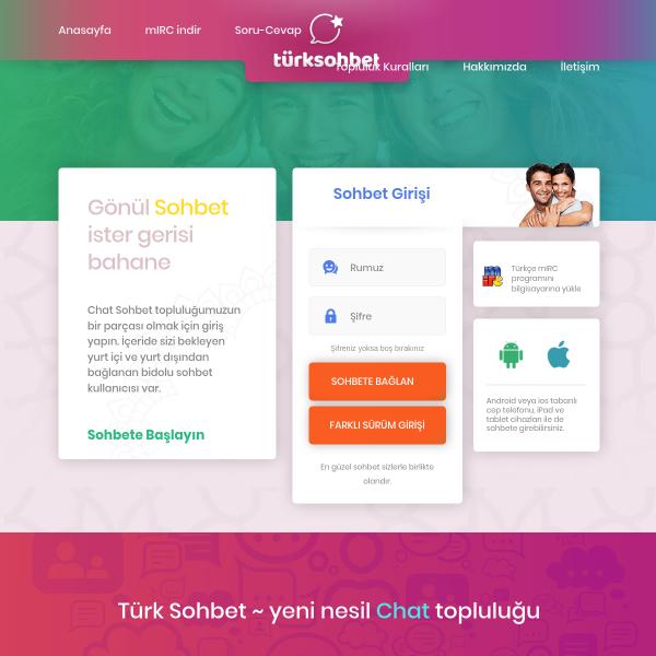 Türk Sohbet Sitesi