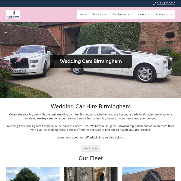 Read more about: Wedding Cars Birmingham