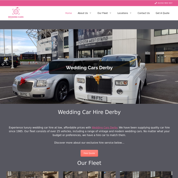 Read more about: Wedding Cars Derby