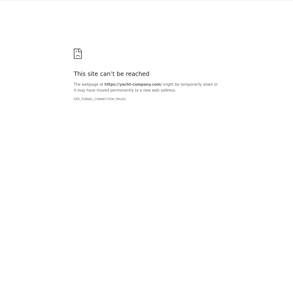 yacht-company.com screen
