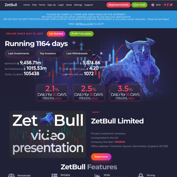 zetbull.com screen