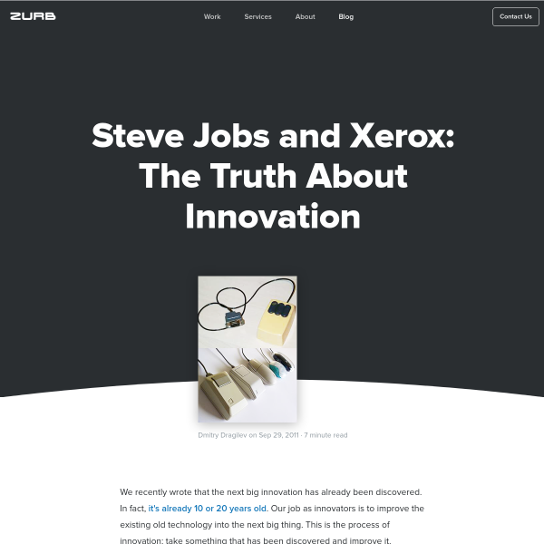 Steve Jobs and Xerox: The Truth About Innovation