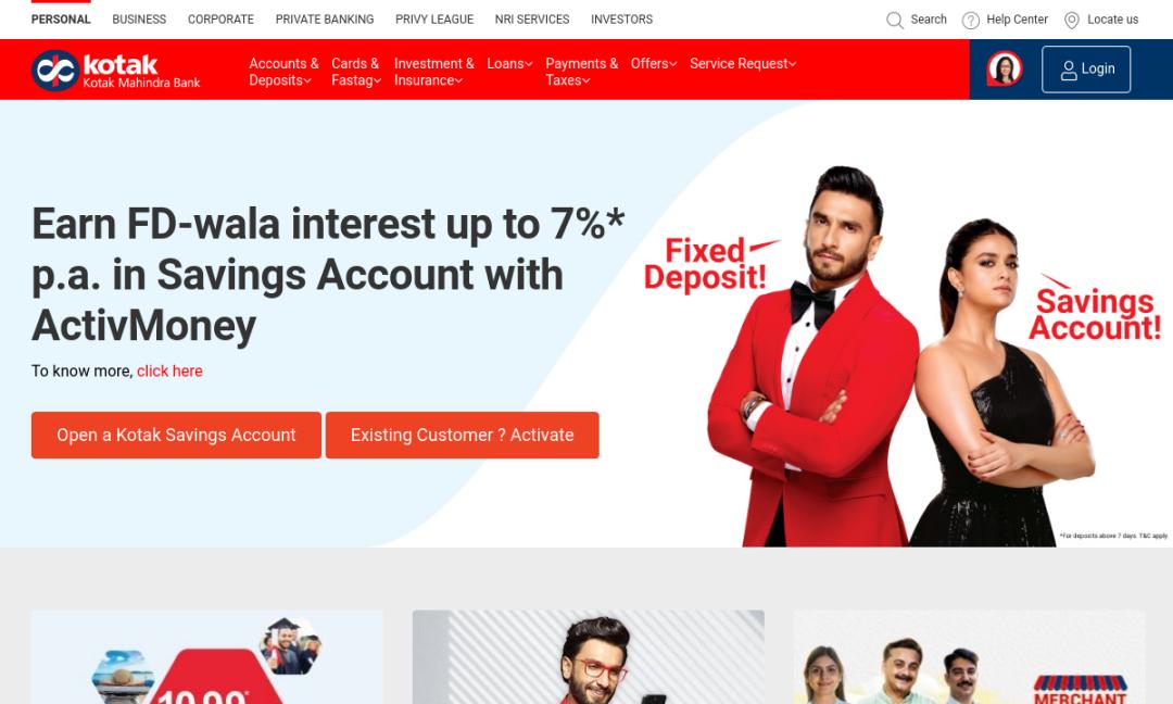 Kotak811 Online Bank: Rs0 Balance Savings Account Instantly