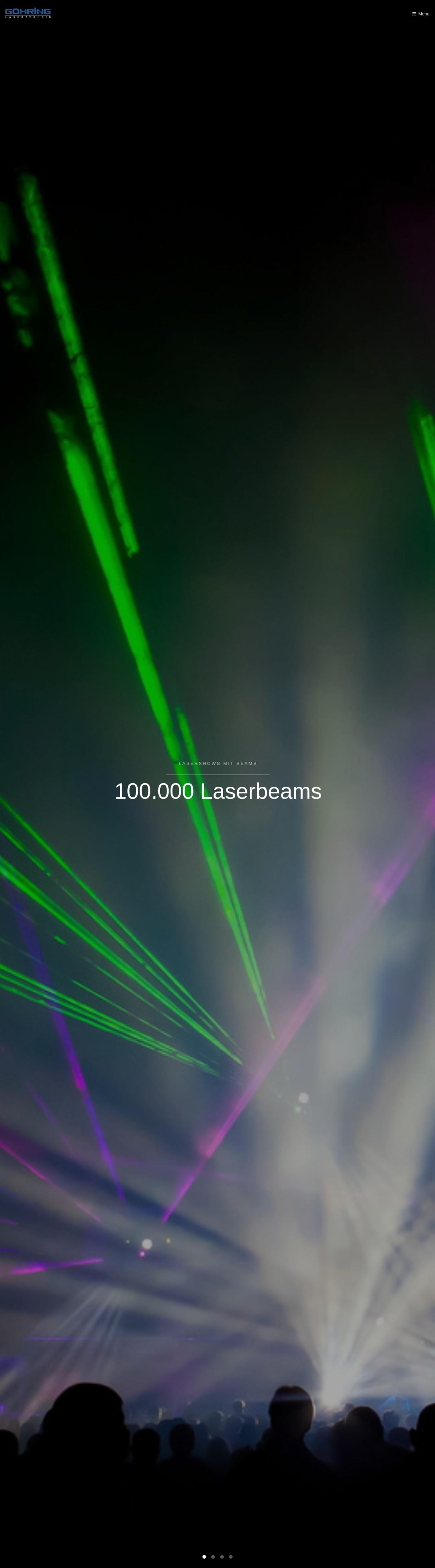 Göhring Lasertechnik - Lasersysteme, Lasershows, Pyrotechnik, Feuerwerk