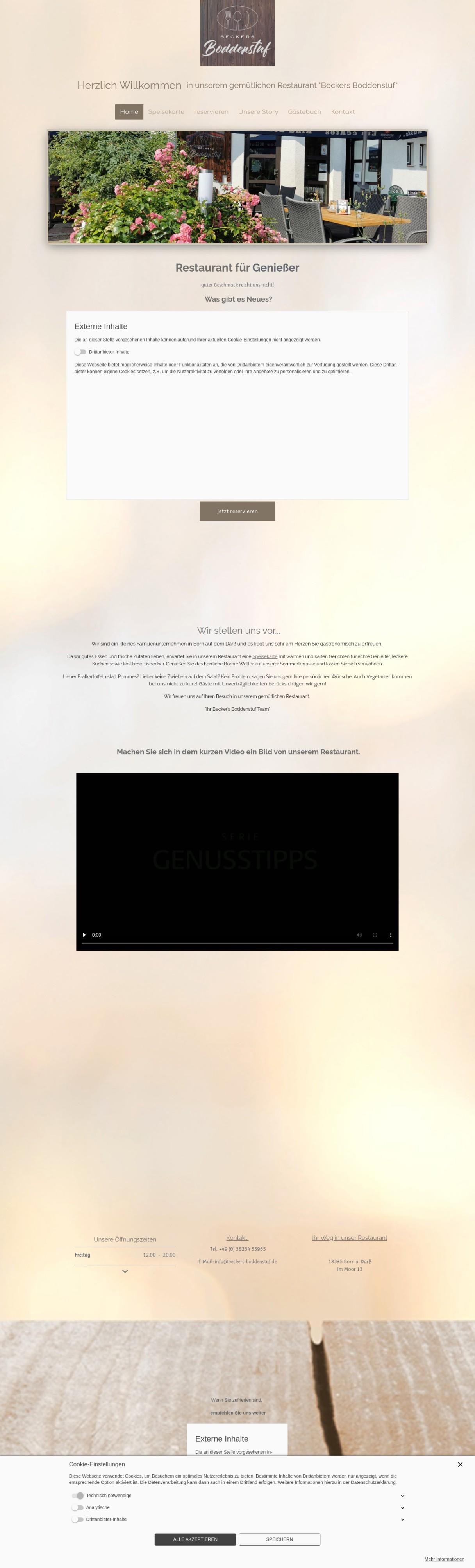 Restaurant in Born