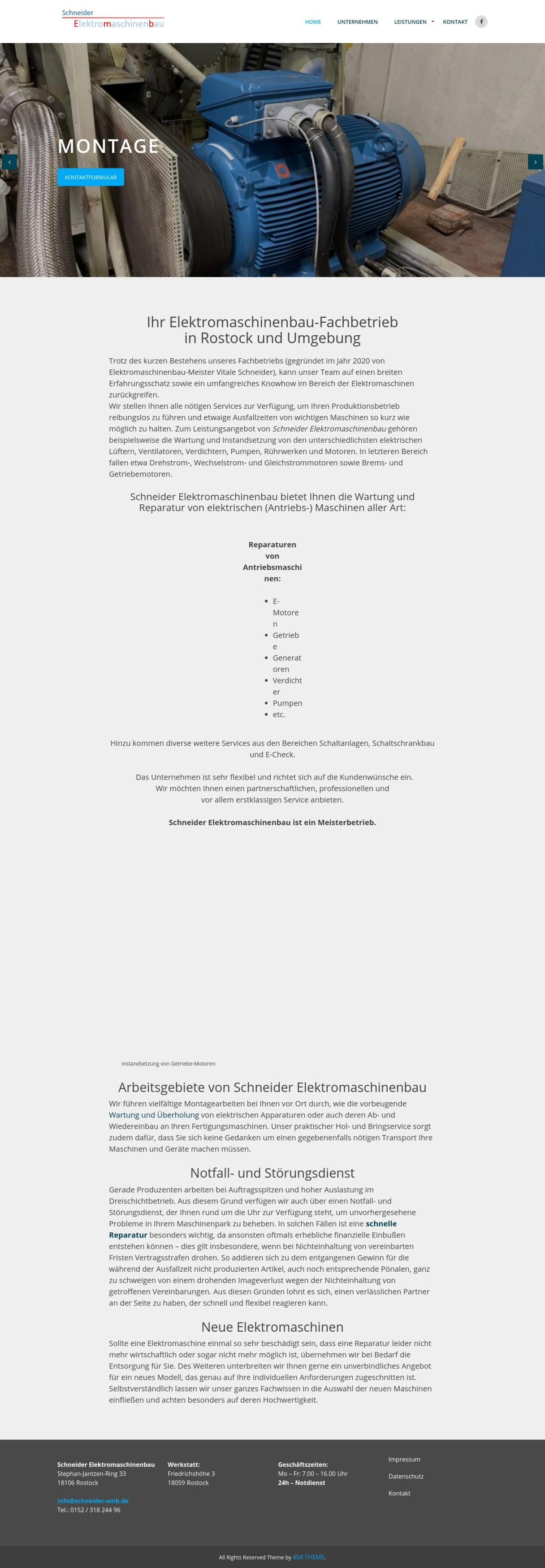 Schneider Elektromaschinenbau